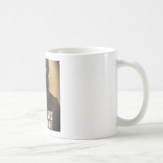Excuse Me Miss, My eyes are up Here Coffee Mug