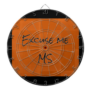Excuse me MS Dartboard