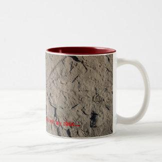 Excuse Me? Two-Tone Coffee Mug