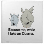 Excuse me while I take an Obama copy.png Cloth Napkin