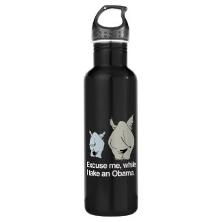 Excuse me while I take an Obama -.png 24oz Water Bottle