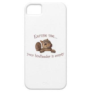Excuse me...your birdfeeder is empty iPhone SE/5/5s case