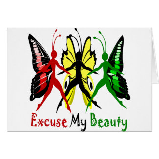 Excuse My Beauty Card