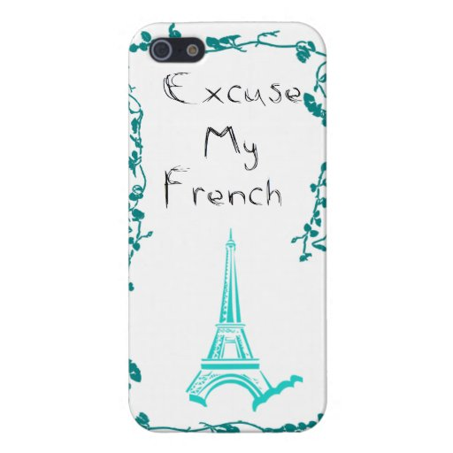 Excuse My French iPhone 5/5S Covers