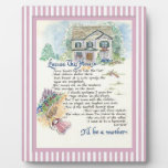 Excuse This House Calligraphy - Audrey Jeanne Photo Plaque