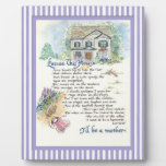 Excuse This House Calligraphy - Audrey Jeanne Display Plaques