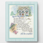 Excuse This House Calligraphy - Audrey Jeanne Plaques