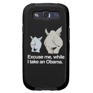 Excúseme mientras que tomo a un Obama - .png Samsung Galaxy S3 Cárcasa