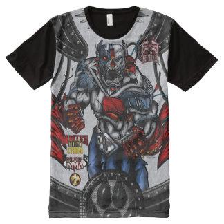 ExE Dogo Argentino - Hunter Cyborg MMA All-Over-Print T-Shirt