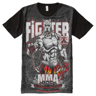 ExE Dogo Argentino MMA Fighter All-Over-Print Shirt