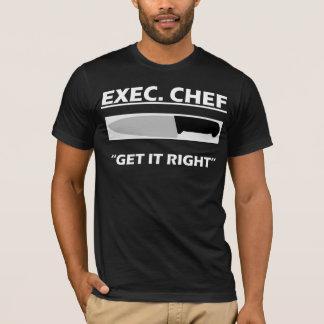 Exec. Chef T-Shirt