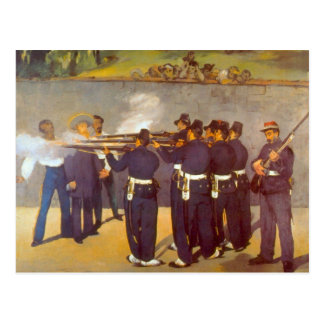 Execution by Edouard Manet Postcard