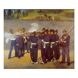 Execution by Edouard Manet Print
