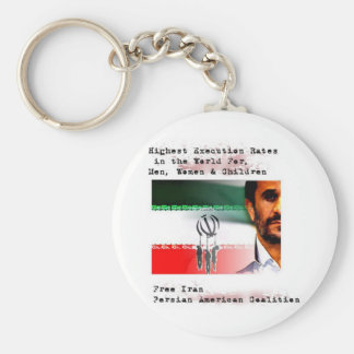 Execution in Iran Key Chain