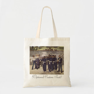 Execution of Emperor Maximillian Tote Bag