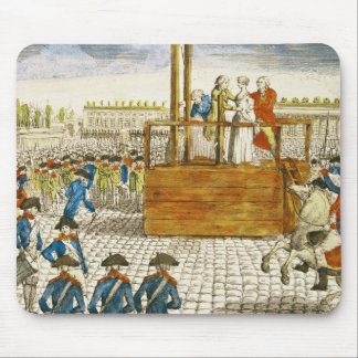 Execution of Marie-Antoinette Mouse Pad