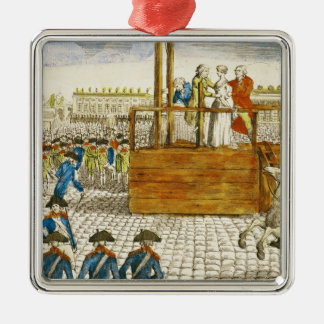 Execution of Marie-Antoinette Christmas Ornament