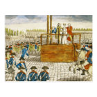 Execution of Marie-Antoinette Postcard