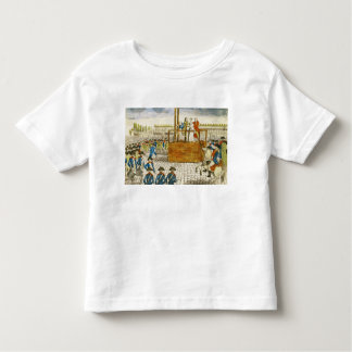Execution of Marie-Antoinette Toddler T-shirt