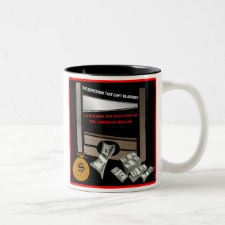 Execution of the American Dollar Mug