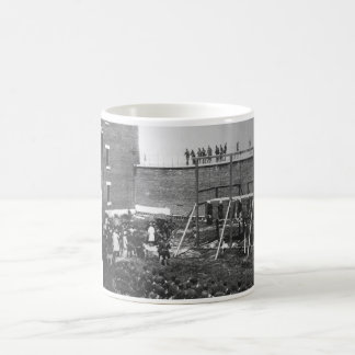 Execution of the four persons condemned as conspir coffee mug