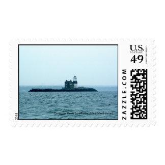 Execution Rocks Lighthouse, Long Island Sound. Postage