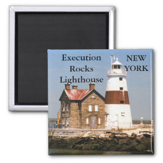 Execution Rocks Lighthouse, New York Magnet