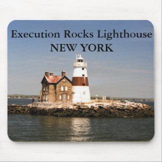 Execution Rocks Lighthouse, New York Mousepad
