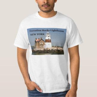 Execution Rocks Lighthouse, New York T-Shirt