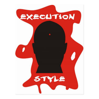 Execution Style 2 Postcard