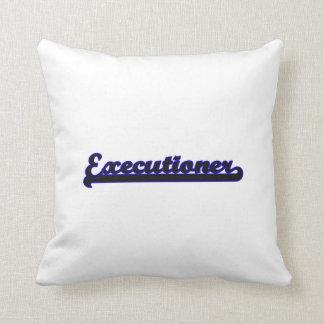 Executioner Classic Job Design Pillow