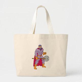 Executioner superhero with axe bag