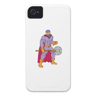 Executioner superhero with axe iPhone 4 covers