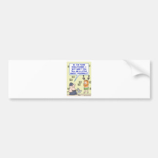 executioner tell me a little about yourself bumper sticker