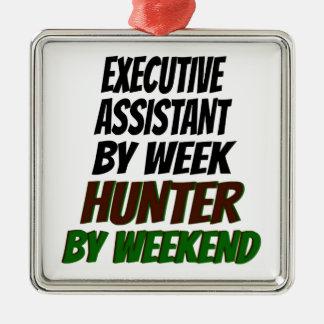 Executive Assistant Hunter Metal Ornament