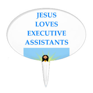 executive assistants cake topper