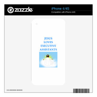 executive assistants decal for the iPhone 4