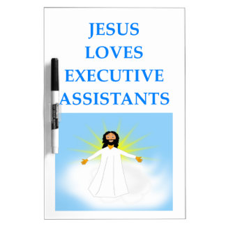 executive assistants dry erase board