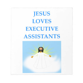 executive assistants notepad