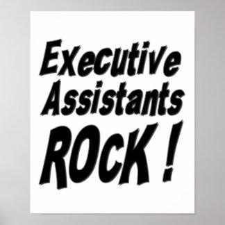 Executive Assistants Rock! Poster Print