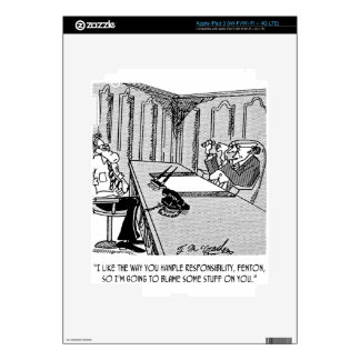 Executive Cartoon 6250 iPad 3 Skins