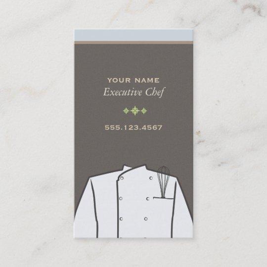 Executive chef business card zazzle executive chef business card colourmoves