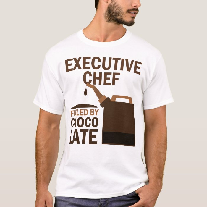 Executive Chef (Funny) Chocolate T-Shirt