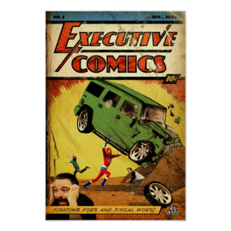 Executive Comics Posters