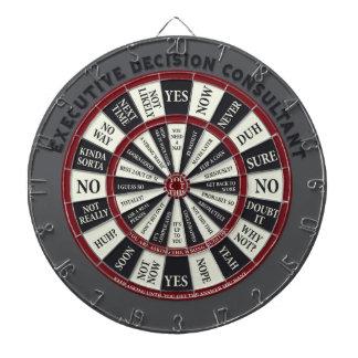 Executive Decision Consultant Dartboard