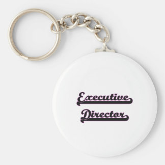 Executive Director Classic Job Design Keychain