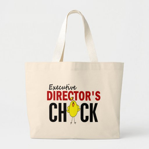 Executive Director's Chick Canvas Bag