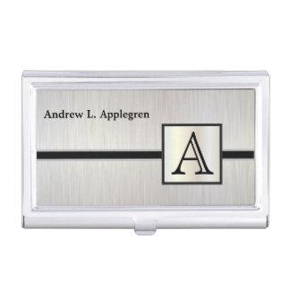 Executive Masculine Monogram Card Holder