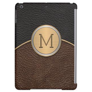 Executive Modern Monogram Case For iPad Air