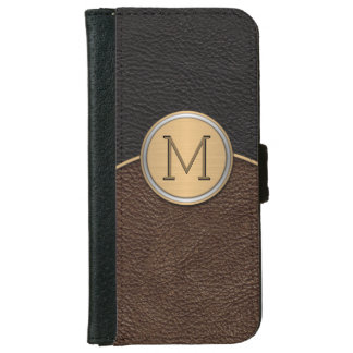 Executive Modern Monogram iPhone 6/6s Wallet Case